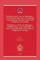 Religion Et Droit en Dialogue