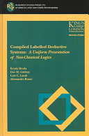 Compiled Labelled Deductive Systems Book