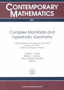 Complex Manifolds and Hyperbolic Geometry