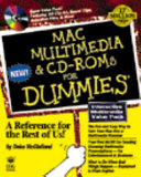 Mac Multimedia   CD ROMs for Dummies
