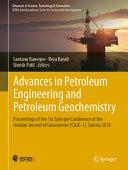 Advances in Petroleum Engineering and Petroleum Geochemistry Book