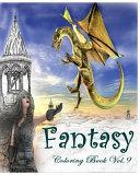 Fantasy : Coloring Book Vol. 9