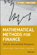Mathematical Methods for Finance