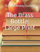 The Brass Bottle: Large Print