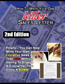 How to Write Killer Sales Letter   2nd Edition