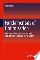 Fundamentals of Optimization Book
