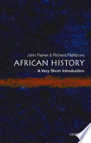 African History  A Very Short Introduction Book