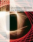 Quantitative Methods For Management