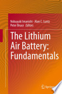 The Lithium Air Battery Book PDF