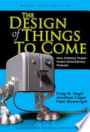 The Design Of Things To Come Book PDF