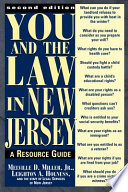 You and the Law in New Jersey Book