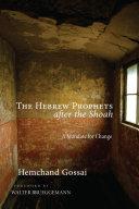 The Hebrew Prophets after the Shoah Pdf/ePub eBook