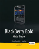 Pdf BlackBerry Bold Made Simple