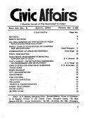 Civic Affairs