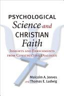 Psychological Science And Christian Faith