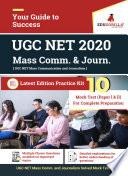 UGC NET Mass Communication and Journalism 2020   20 Full length Mock Test For  Paper l   Paper ll