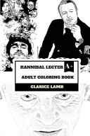 Hannibal Lecter Adult Coloring Book Book