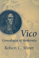 Vico  Genealogist of Modernity