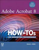 Adobe Acrobat 8 How-Tos [Pdf/ePub] eBook
