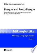 Basque and Proto-basque