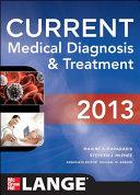 Current Medical Diagnosis And Treatment 2013 Book PDF