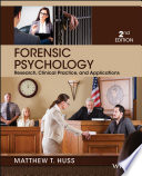 """Forensic Psychology"" by Matthew T. Huss"