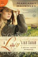 Pdf A Lady Like Sarah