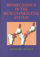 Biomechanics in the Musculoskeletal System Book