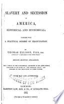 Slavery And Secession In America