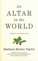 An Altar in the World Book PDF