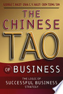 The Chinese Tao of Business Book