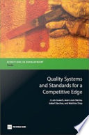 Quality Systems And Standards For A Competitive Edge Book PDF