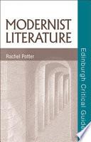 Modernist Literature Book PDF