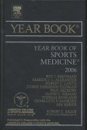 Year Book Of Sports Medicine 2006