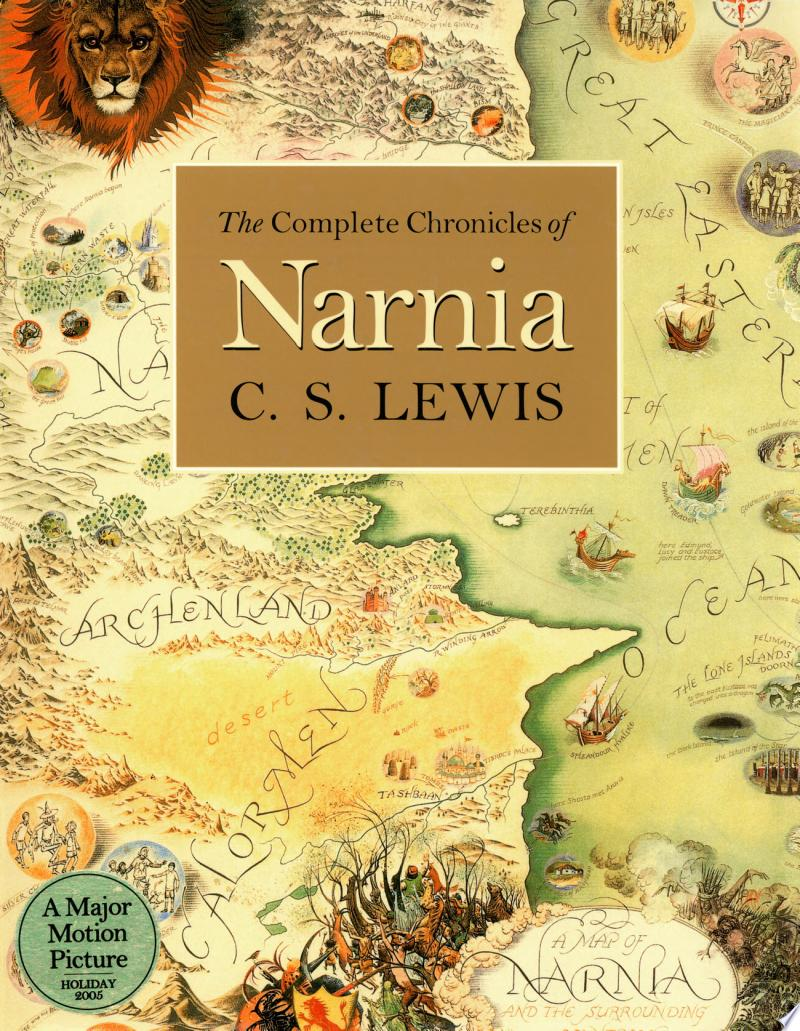 The Complete Chronicles of Narnia banner backdrop