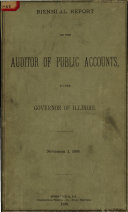 Annual Report of the Auditor of Public Accounts of the State of Illinois
