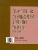 Design Guidelines For Surface Mount And Fine Pitch Technology