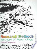 Research Methods for AQA 'A' Psychology