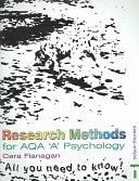 Research Methods for AQA  A  Psychology
