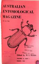 Australian Entomological Magazine
