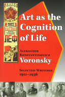Art as the Cognition of Life