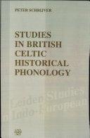 Pdf Studies in British Celtic Historical Phonology Telecharger