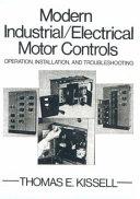 Modern Industrial electrical Motor Controls