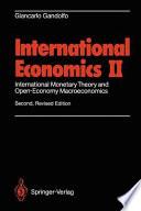International Economics Two