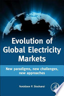 Evolution Of Global Electricity Markets Book PDF