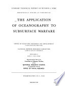 The application of oceanography to subsurface warfare