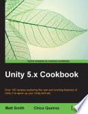 Unity 5 x Cookbook