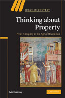 Thinking about Property