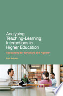 Analysing Teaching Learning Interactions in Higher Education