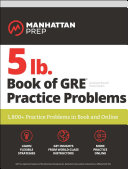 5 lb  Book of GRE Practice Problems
